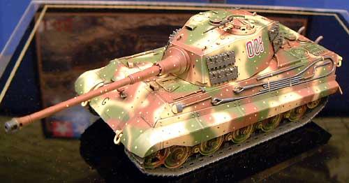 ドイツ重戦車 キングタイガー (ヘンシェル砲塔)プラモデル(タミヤ1/48 ミリタリーミニチュアシリーズNo.036)商品画像_2