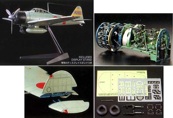 三菱 海軍零式艦上戦闘機 21型プラモデル(タミヤ1/32 エアークラフトシリーズNo.017)商品画像_2