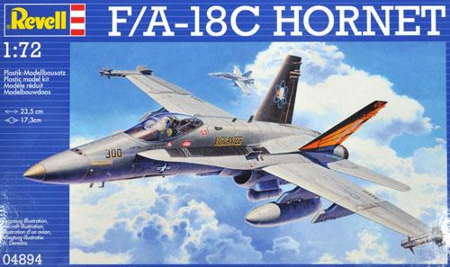 F/A-18C ホーネットプラモデル(レベル1/72 飛行機No.04894)商品画像