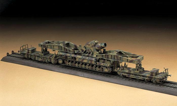 60cm 自走臼砲 カール 量産型 w/運搬車プラモデル(ハセガワ1/72 ミニボックスシリーズNo.MT057)商品画像_3