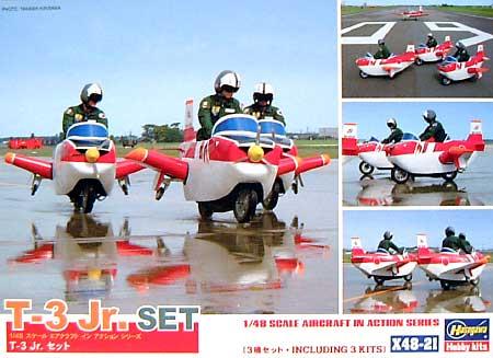 T-3 Jr. セットプラモデル(ハセガワ1/48 エアクラフト イン アクション シリーズNo.X48-021)商品画像