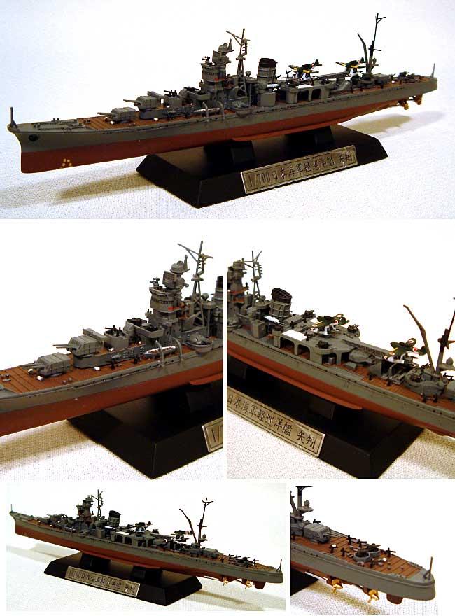 日本海軍 軽巡洋艦 矢矧 (塗装済完成品モデル)完成品(ピットロード塗装済完成品モデルNo.CP009)商品画像_1