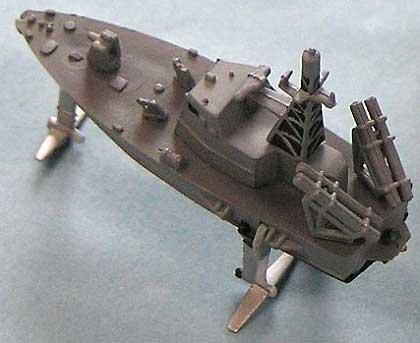 海上自衛隊哨戒艇 PG-01 ミサイル艇 1号型 (2隻入)レジン(ピットロード1/350 HMGシリーズNo.HMG002)商品画像_2
