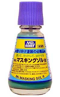 Mr.マスキングゾル 改マスキング材(GSIクレオスアクセサリーNo.M133)商品画像