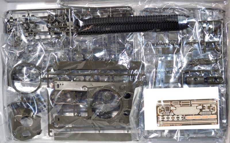 シャーマン 5c ファイアフライプラモデル(アスカモデル1/35 プラスチックモデルキットNo.35-009)商品画像_1