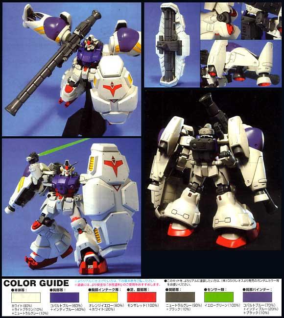 RX-78GP02A ガンダムGP-02A サイサリスプラモデル(バンダイHGUC (ハイグレードユニバーサルセンチュリー)No.066)商品画像_2