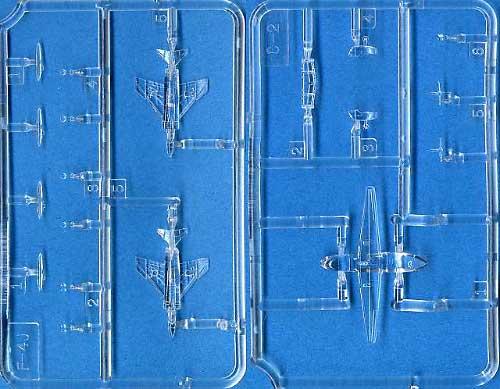 F-4J ファントム 2 & C-2 グレイハウンドプラモデル(ピットロードスカイウェーブ E シリーズNo.DS003)商品画像_2