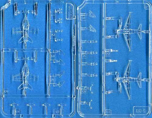 S-3B ヴァイキング & F/A-18E スーパーホーネットプラモデル(ピットロードスカイウェーブ E シリーズNo.DS005)商品画像_2