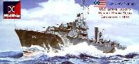 米海軍 マハン級駆逐艦 DD372 カッシン 1943