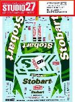 スタジオ27ラリーカー オリジナルデカールフォーカス RS WRC Stobart モンテカルロ 2006