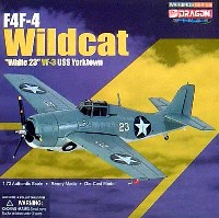 ドラゴン1/72 ウォーバーズシリーズ (レシプロ)F4F-4 ワイルドキャット White 23 VF-3 USS ヨークタウン