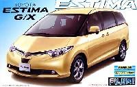 フジミ1/24 インチアップシリーズトヨタ エスティマ G/X (2006年モデル)
