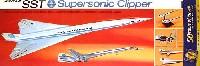 レベル飛行機モデルSST スーパーソニック クリッパー