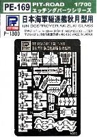 ピットロード1/700 エッチングパーツシリーズ日本駆逐艦 秋月型用 エッチングパーツ