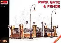 ミニアート1/35 ビルディング&アクセサリー シリーズ公園のゲート・フェンス