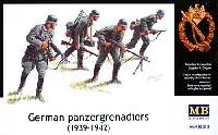 マスターボックス1/35 ミリタリーミニチュアドイツ 装甲擲弾兵 1939-42