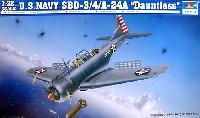 トランペッター1/32 エアクラフトシリーズアメリカ海軍 急降下爆撃機 SBD-3/4/A-24A ドーントレス