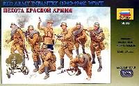 ズベズダ1/35 ミリタリーソビエト歩兵 WW2 (1940-42)