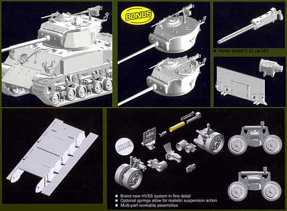 M4A3E8 シャーマン サンダーボルト 7プラモデル(ドラゴン1/35 '39-'45 SeriesNo.6183)商品画像_3