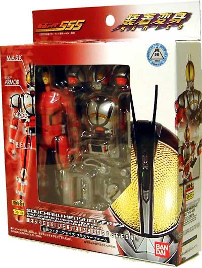 仮面ライダー 555 (ファイズ) ブラスターフォームフィギュア(バンダイ装着変身シリーズNo.GE-013)商品画像