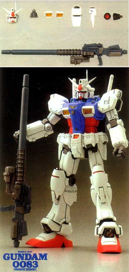 HGUC ガンダムGP-01用 (c.o.v.e.r.kit-3)レジン(Bクラブc・o・v・e・r-kitシリーズNo.2577)商品画像_2