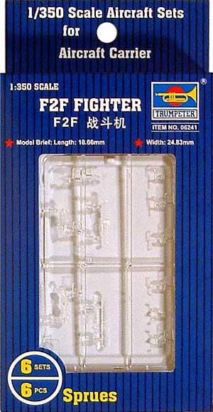 F2F 艦上戦闘機プラモデル(トランペッター1/350 航空母艦用エアクラフトセットNo.06241)商品画像