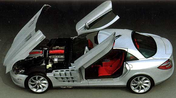 メルセデス ベンツ SLR マクラーレンプラモデル(タミヤ1/24 スポーツカーシリーズNo.290)商品画像_2