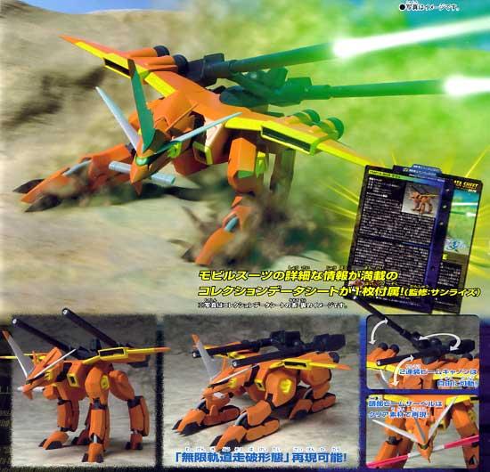 TMF-/A-803 ラゴゥフィギュア(バンダイMS in ActionNo.205020-0139702)商品画像_2