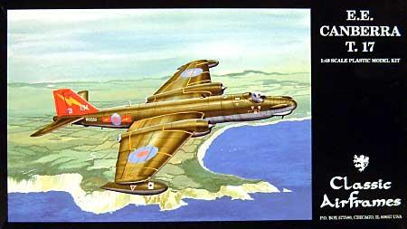 E.E. キャンベラ T.17プラモデル(クラシックエアフレーム1/48 ミリタリーエアクラフト プラモデルNo.4129)商品画像