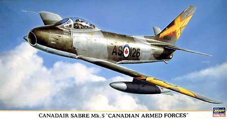 カナディア セイバー Mk.5 カナダ国防軍プラモデル(ハセガワ1/48 飛行機 限定生産No.09705)商品画像