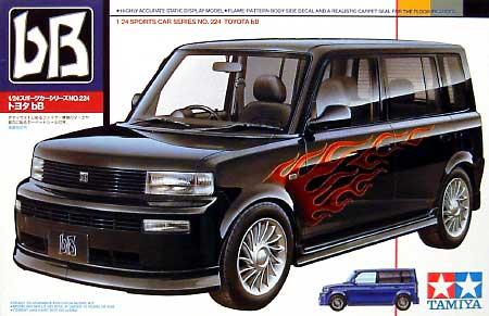 トヨタ bBプラモデル(タミヤ1/24 スポーツカーシリーズNo.224)商品画像