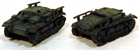 3号突撃砲 E型レジン(紙でコロコロ1/144 ミニミニタリーフィギュアNo.058)商品画像_3