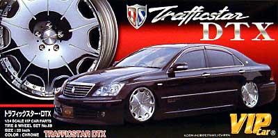 リバーサイド トラフィックスター DTX (20インチ)プラモデル(アオシマ1/24 VIPカー パーツシリーズNo.069)商品画像