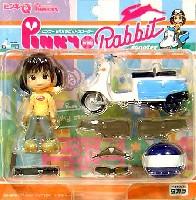 ピンキー with ラビットスクーター