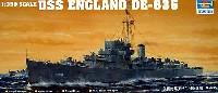 トランペッター1/350 艦船シリーズUSS バックレイ級駆逐艦 DE-635 イングランド