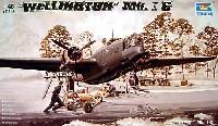 トランペッター1/48 エアクラフト プラモデルウェリントン Mk.1C型