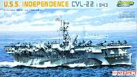 U.S.S. インディペンデンス CVL-22 1943