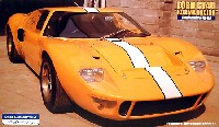フジミ1/24 ヒストリックレーシングカー シリーズコジマレーシング フォードGT40 1969年 (シャーシNo.GT40P-1077)