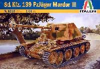 イタレリ1/35 ミリタリーシリーズSd.Kfz.139 マーダー3H 対戦車自走砲