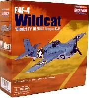 ドラゴン1/72 ウォーバーズシリーズ (レシプロ)F4F-4 ワイルドキャット ブラック 9-F-1 VF-9 オペレーション トーチ 1942