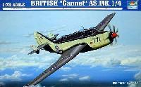 トランペッター1/72 エアクラフト プラモデルフェアリー ガネット A.S.Mk1/4