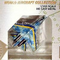 ワールド・エアクラフト・コレクション1/200スケール ダイキャストモデルシリーズSu-27 ウクライナ空軍 デモカラー #57