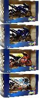 レベルFUNtastic BIKES (ファンタスティック バイクス)V.ロッシ チャンピオンマシン 4台セット