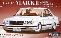 フジミ1/24 インチアップシリーズトヨタ マーク 2 グランデ ツインカム 24 (GX61)