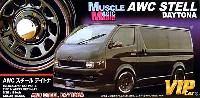 アオシマ1/24 VIPカー パーツシリーズマッスルマジック AWC スチール デイトナ (16インチ)