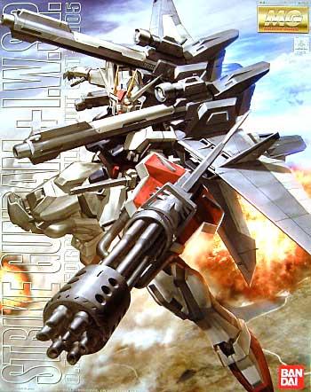 GAT-X105 ストライクガンダム + I.W.S.P.プラモデル(バンダイMG (マスターグレード)No.0146728)商品画像
