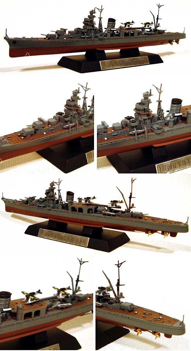日本海軍 軽巡洋艦 阿賀野 (塗装済完成品モデル)完成品(ピットロード塗装済完成品モデルNo.CP015)商品画像_1