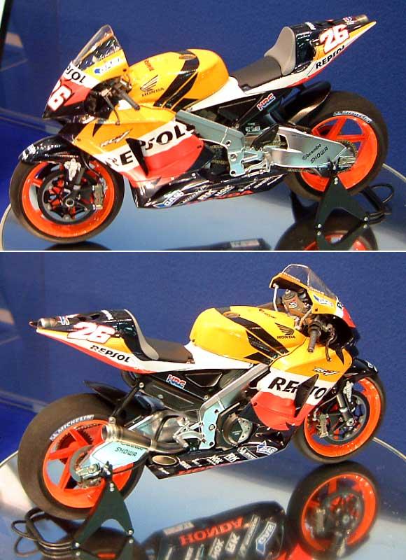 レプソル ホンダ RC211V 2006プラモデル(タミヤ1/12 オートバイシリーズNo.106)商品画像_2