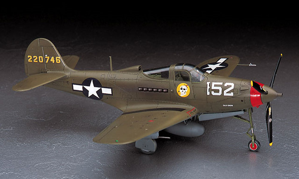 P-39Q/N エアラコブラプラモデル(ハセガワ1/48 飛行機 JTシリーズNo.JT093)商品画像_2