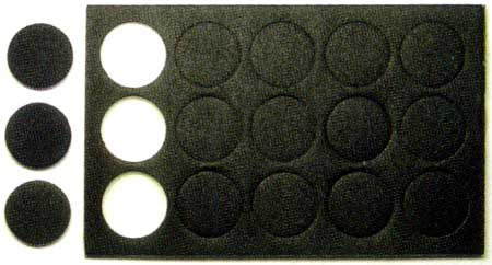 Mr.ポリッシャーPro用 交換耐水ペーパー (スポンジ付) 400番スポンジヤスリ(GSIクレオスGツールNo.GT048)商品画像_2